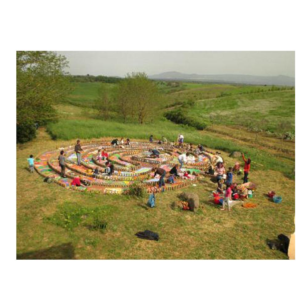 il labirinto, un progetto di pace in azione